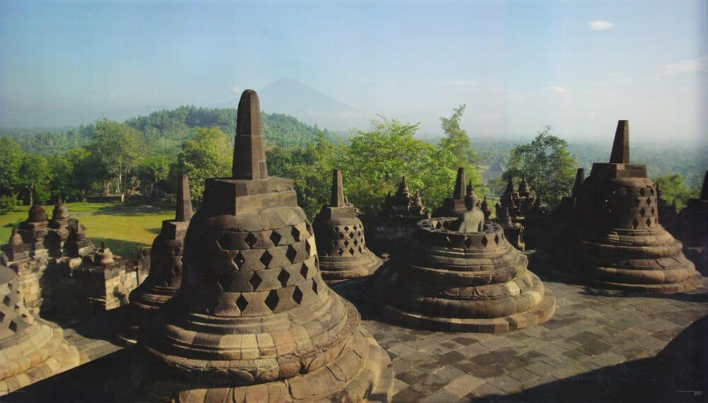 4D3N Borobudur Temple Sunrise Tour and Mount Merapi for Singapore borobudur