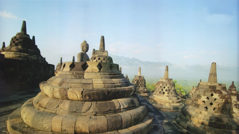 Central Java chicken church tour with Ijo Temple sunset and Breksi Cliff borobudur