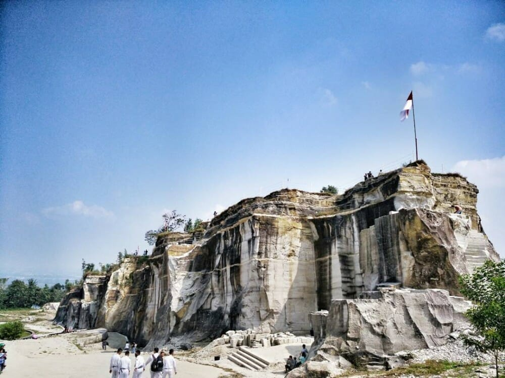 Central Java chicken church tour with Ijo Temple sunset and Breksi Cliff breksi cliff