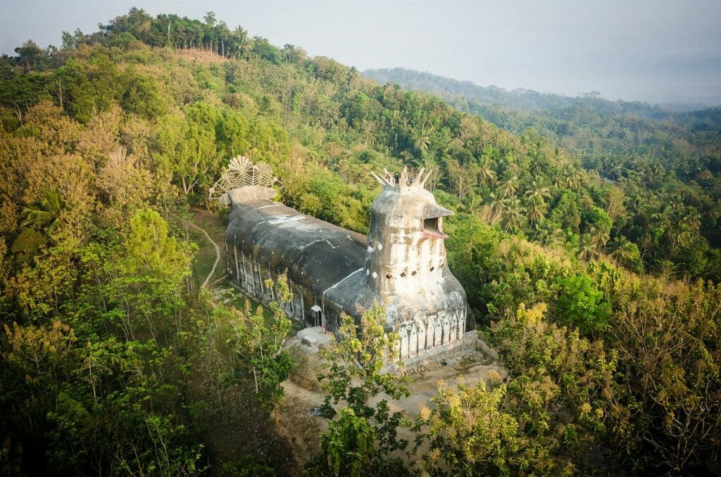 Central Java chicken church tour with Ijo Temple sunset and Breksi Cliff gereja ayam