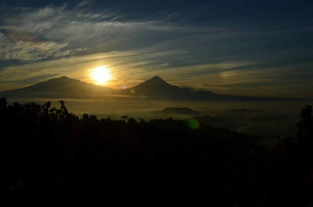 Jogja itinerary and price setumbu hill sunrise, pine forest, sand dune setumbu hills