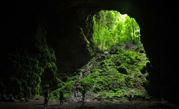Top 11 natural attractions in Yogyakarta 4. Shine brightly with the Heaven's Rays in Jomblang Caves -2-min