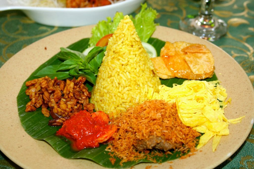 Top 9 Indonesian cuisines in Yogyakarta - 8. Yellow Rice @ Bale Roas-min